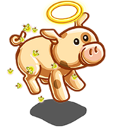 Mystical Angel Pig-icon