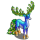 Peacock Aspired Deer-icon