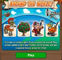 Around the World Loading Screen