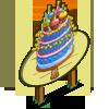 Big Birthday Cupcake Tree Mastery Sign-icon
