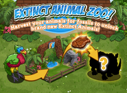 Extinct Animal Zoo Loading Screen