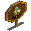 Gourd Calf Mastery Sign-icon