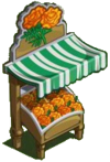 Orange Marigold Stall-icon