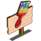 Paint Brush (crop) Mastery Sign-icon