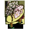 White Trumpet Tree Mastery Sign-icon