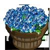 Blue Glass Rose Bushel-icon