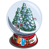 Forest Snow Globe-icon
