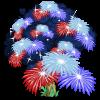 July Firework Tree-icon