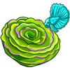 Lime Green Rose-icon