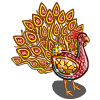 Red Royal Peacock-icon