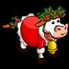 Santa Lover Cow-icon