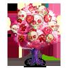 Smiling Skull Tree-icon