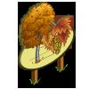Autumn Birch Tree Mastery Sign-icon