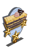 Mocha Blackberry Cake 3 Star Mastery Sign-icon