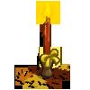 Leaf Candle-icon
