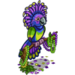 Mardi Gras Bird-icon