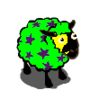 Green Dark Byzantinum- Starred Yellow Mask Ewe-icon