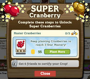 Keep Planting Cranberry