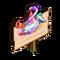 Princess Hat Mastery Sign-icon