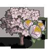 White Plum Tree-icon