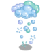 Bubble Clouds-icon