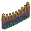 Lavender Fence-icon