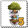 Yggdrasil Tree Stamp-icon