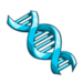 Blue DNA-icon