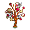 Day of Dead Tree-icon