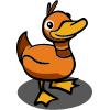 Orange Duck-icon