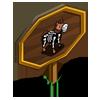 Skeleton Horse Mastery Sign-icon