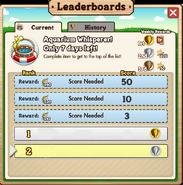 Leaderboards Week 3
