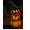 Pumpkin Snowman-icon