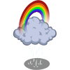 Rainbow Rain Cloud-icon
