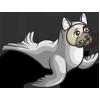 Sealed Pug Dog-icon