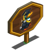 CapNGown Duck Mastery Sign-icon