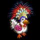 Festive Chicken-icon