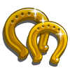 Gold Horseshoe-icon