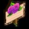 Purple Dahlias Mastery Sign-icon