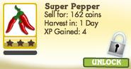 Super Pepper Locked