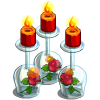 Wine Glass Candles-icon