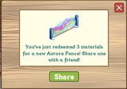 Aurora Fence Redeemed