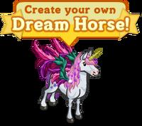 Create your own Dream Horse Notice