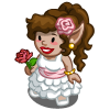 Flower Girl Gnome-icon