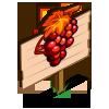 Late Harvest Shiraz Grape Mastery Sign-icon