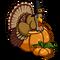 Pumpkin Turkey (decoration)-icon