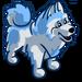 Blue Samoyed-icon