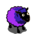 Electric Ultramarine Vivid Violet Ewe-icon
