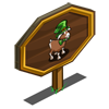 Leprechaun Goat Mastery Sign-icon