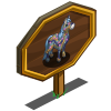 Mosaic Horse Mastery Sign-icon